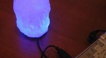 Солевая лампа MINI  USB «Скала»