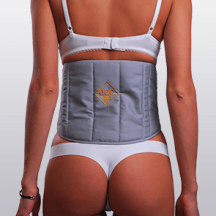 Пояс-корсет «Doctor» из верблюжьей шерсти с поддерживающими вставками