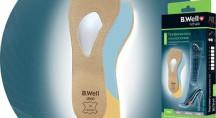 Полустельки ортопедические для обуви с высоким каблуком B.Well rehab  UNO FW-619
