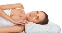 Ортопедическая подушка с эффектом памяти под голову (для сна на боку и на спине) TRELAX SOLA П30