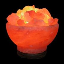 Солевая лампа «Ваза с камнями»