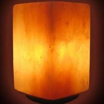 Солевая лампа «Куб»