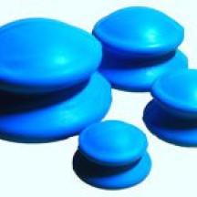 Антицеллюлитные массажные вакуумные банки резиновые 4 шт.