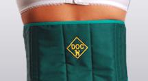 Пояс-корсет «Doctor» из собачей шерсти с поддерживающими вставками