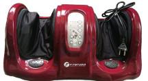 Массажер для ног с ик-прогревом FOOT MASSAGE FITSTUDIO (бордовый)
