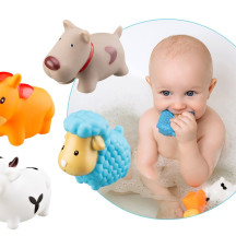 Игрушки детские для ванной » Моя ферма», 4 шт.